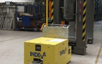Create the future with a production line of Indeva AGVs