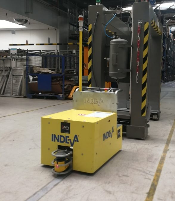 Create the production line of the future with Indeva AGVs