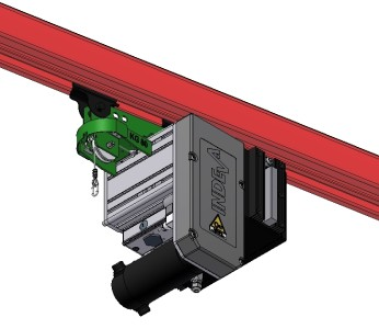 Liftronic Easy overhead rail