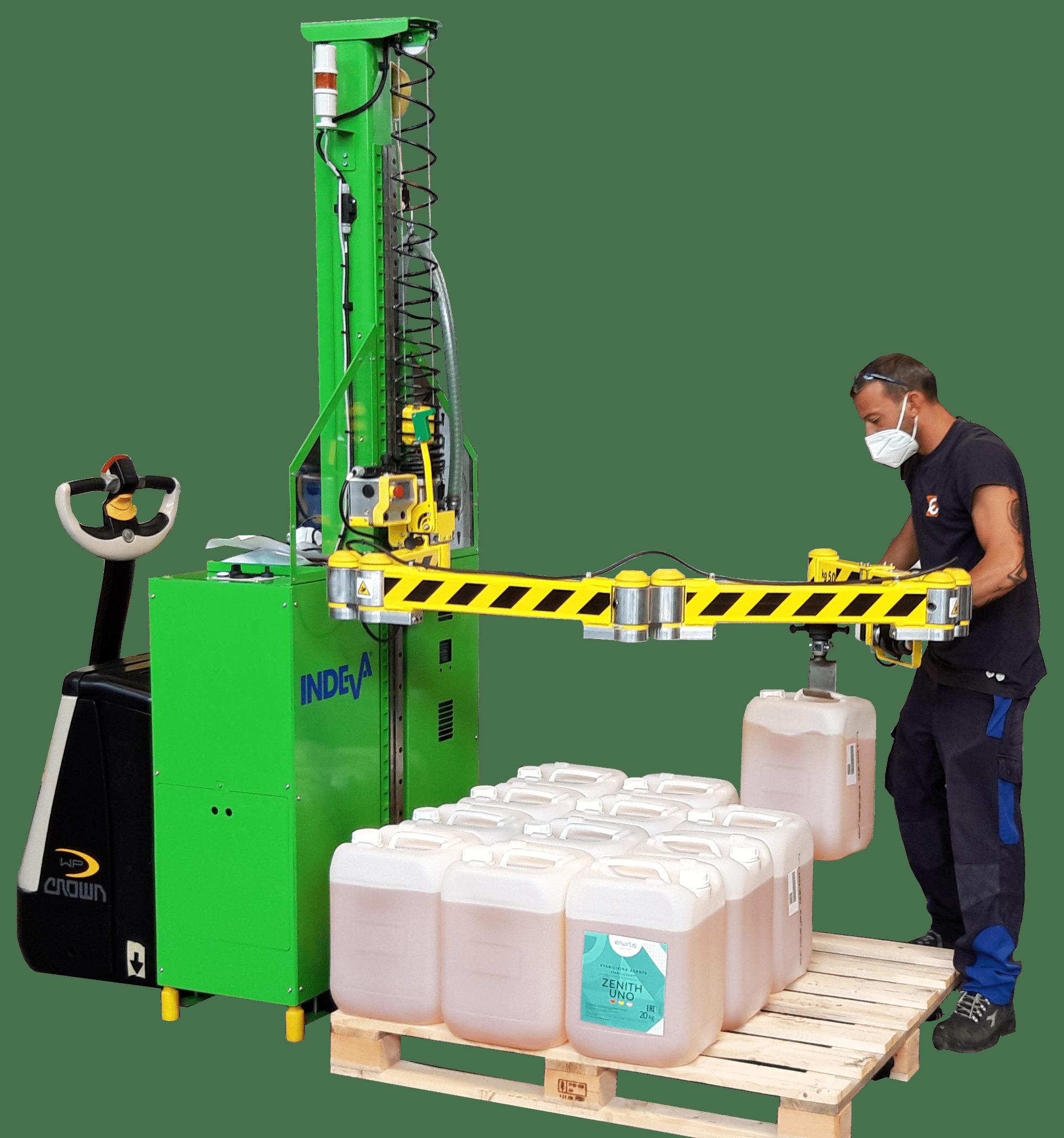 Warehouse material handling equipment